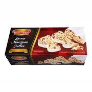 Марципановый рождественский кекс в подарочной коробке Luxury Marzipan Stollen KuchenMeister 500 гр, фото 1
