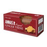 Тонкое имбирное печенье Ginger Thins Annas 150 гр, фото 1