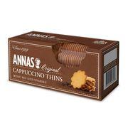 Тонкое имбирное печенье Капучино Cappuccino Thins Annas 150 гр, фото 1