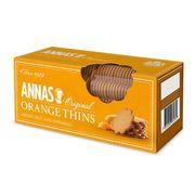 Тонкое имбирное печенье апельсиновое Orange Thins Annas 150 гр, фото 1