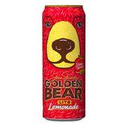 Клубничный лимонад Golden Bear Lite Lemonade AriZona 680 мл, фото 1