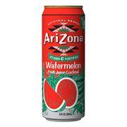Холодный чай с соком арбуза Watermelon Fruit Juice Coctail AriZona 680 мл, фото 1
