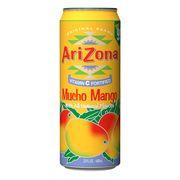 Напиток холодный чай с соком манго Mucho Mango AriZona 680 мл, фото 1