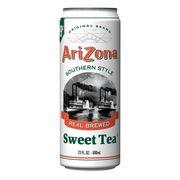 Сладкий чай в банке Южный стиль Southern Style Sweet Tea AriZona 680 мл, фото 1