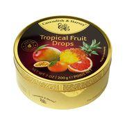 Леденцы Ассорти Тропические фрукты Tropical Fruit Drops Cavendish and Harvey 200 гр, фото 1