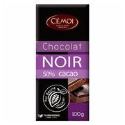 Темный шоколад 50% какао Cemoi 100 гр, фото 1