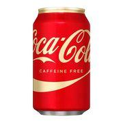 Газировка без кофеина Caffeine Free Coca Cola 355 мл, фото 1