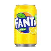 Газировка Lemon Fanta 330 мл, фото 1