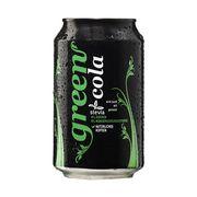 Газировка со стевией Cola Green 330 мл, фото 1