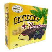 Банановое суфле с ежевичным джемом в темном шоколаде Шокобананы Hauswirth 150 гр, фото 1