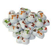 Шоколадные конфеты на развес Снеговики La Suissa 100 гр, фото 1