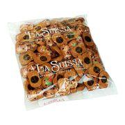 Шоколадная новогодняя коллекция Веселые Олени Санты La Suissa 1 кг, фото 1