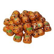 Шоколадные конфеты на развес Веселые Олени Санты La Suissa 100 гр, фото 1