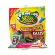 Мармеладные пластинки с острым вкусом FlexiFizz Duo Lutti 200 гр, фото 1