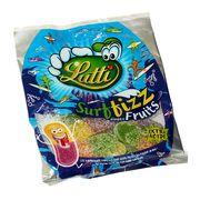 Мармелад Экстракислые языки двойной вкус Surffizz Fruits Lutti 100 гр, фото 1