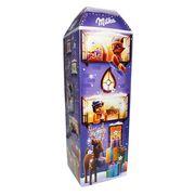 Рождественский шоколадный календарь 3D дом Milka 229 гр, фото 1