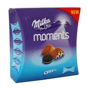 Шоколадные конфеты Oreo Moments Milka 92 гр, фото 1