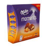 Шоколадные конфеты Toffee Wholenut Moments Milka 97 гр, фото 1