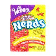 Конфеты драже Nerds Wild Cherry Apple Watermelon Wonka 46,7 гр, фото 1