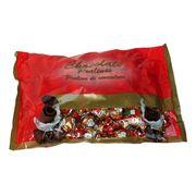 Новогодние шоколадные конфеты Дед Мороз золотые Sorini 1 кг, фото 1