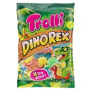Жевательный супер кислый мармелад Dino Rex Trolli 200 гр, фото 1