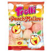 Суфле Персиковое с фруктовой начинкой Peach Mallow Trolli 150 гр, фото 1