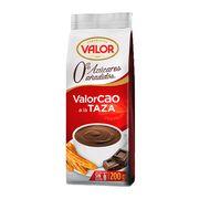 Порошок для приготовления горячего шоколада без сахара какао 19% Valor 200 гр, фото 1