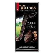 Тёмный шоколад с хрустящей кофейной крошкой Villars 100 гр, фото 1