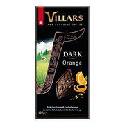Тёмный шоколад с цукатами из апельсиновых корочек Villars 100 гр, фото 1