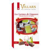 Коллекция 4 ликеров в молочных мини-плитках Villars 250 гр, фото 1