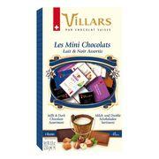 Горький и молочный шоколад ассорти в мини-плитках Villars 250 гр, фото 1