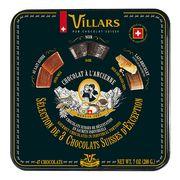 Ассорти шоколада по старинным швейцарским рецептам жесть Villars 200 гр, фото 1
