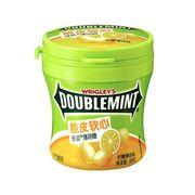 Жевательные конфеты вкус лимон и мята Doublemint Chewy Lemon Mints Wrigley 80 гр, фото 1