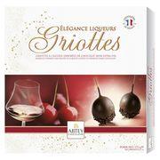 Конфеты в коробке Ликерная вишня в горьком шоколаде Abtey 175 гр, фото 1