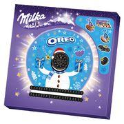 Адвент Календарь Сюрприз Шоколад Milka и печенье Oreo 286 гр, фото 1