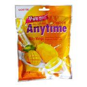 Леденцы с ксилитолом Молоко и Манго без сахара Milky Mango Anytime Lotte 60 гр, фото 1