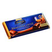 Шоколад молочный Бренди и Кофе Baltyk Brandy & Coffee 145 гр, фото 1