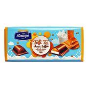 Молочный шоколад с карамелью Тоффи Baltyk Tofi To 145 гр, фото 1