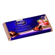 Молочный шоколад с Клубникой Baltyk Truskawka 148 гр, фото 1