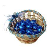 Пасхальные яйца в корзинке шоколад Milka 150 гр, фото 1
