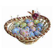 Пасхальный сувенир Корзинка с яйцами шоколад La Suissa 150 гр, фото 1