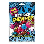 Леденец на палочке с конфетой Chew Pop Bazooka 140 гр, фото 1