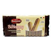 Бисквитное печенье Савоярди ваниль и какао BiHappy Bonomi 200 гр, фото 1