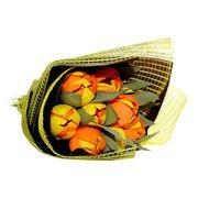 Букет конфет с ликером Солнечный тюльпан, фото 1