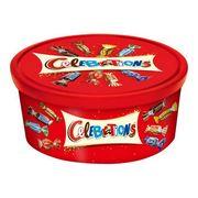 Подарочный набор Микс Шоколадных конфет Celebration Mars в банке 650 гр, фото 1