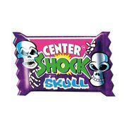 Особо кислая жвачка Skull Центр Шок Scary Mix Center Shock 3 шт x 4 гр, фото 1