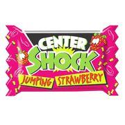 Особо кислая жвачка Jumping Strawberry Center Shock 3 шт x 4 гр, фото 1