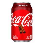 Газировка с корицей Coca Cola Cinnamon 355 ml, фото 1