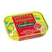 Филе сардин в маринаде с лимоном и базиликом Connetable 100 гр, фото 1