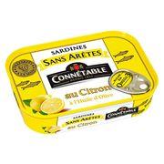 Сардины без костей в оливковом масле с лимоном Connetable 140 гр, фото 1